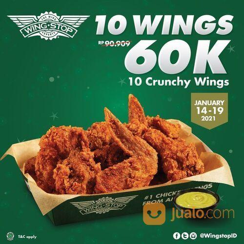 Wingstop Promo 10 Wings 60K* (29381910) di Kota Jakarta Selatan