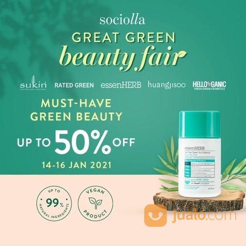 Sociolla Brand Day Great Green Beauty Fair edition! (29397242) di Kota Jakarta Selatan