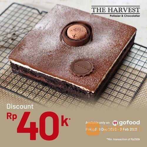 Harvest Discount 40k dari GoFood (29405747) di Kota Jakarta Selatan