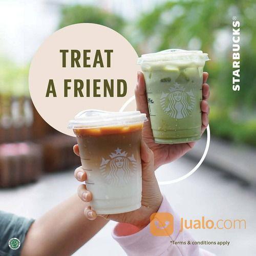 Starbucks Promo ukuran Grande langsung dapat potongan 50%* (29405890) di Kota Jakarta Selatan
