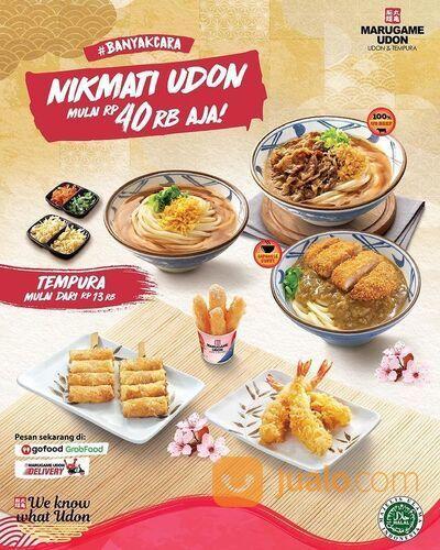 Marugame Udon Niku Udon, Beef Curry Udon dan Chicken Katsu Curry Udon mulai dari Rp40rb aja (29407916) di Kota Jakarta Selatan