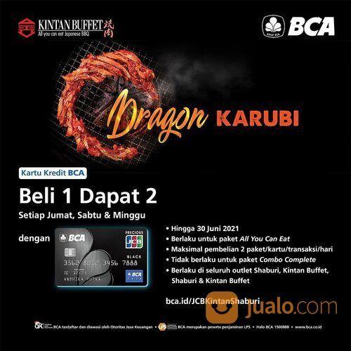 Kintan Buffet Buy 1 get 2 Promo with BCA JCB Black credit card is back! (29415904) di Kota Jakarta Selatan