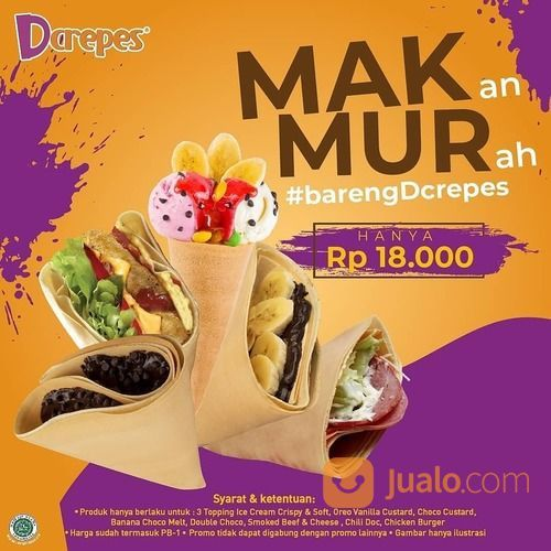 Dcrepes lagi ada promo MAKMUR(Makan Murah) (29415907) di Kota Jakarta Selatan