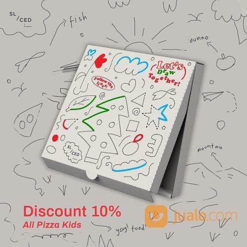 SLICED PIZZA 3 Days more discount! 10% for all pizza kids via GO-FOOD (29415923) di Kota Jakarta Selatan