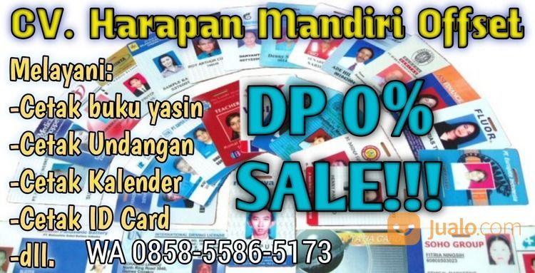 DP 0%, Call 085855865173, Percetakan (29417775) di Kab. Kediri