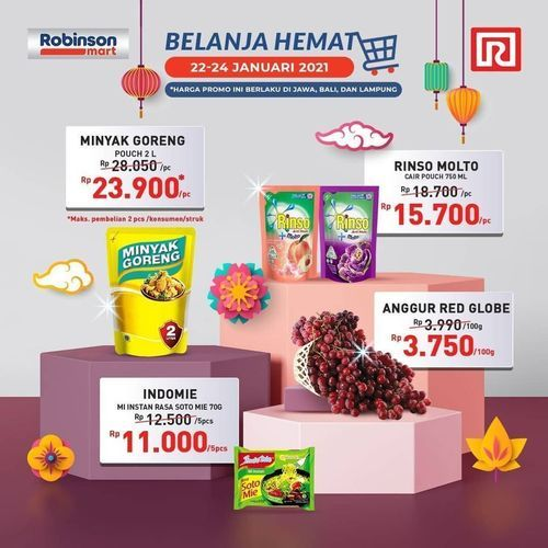 Robinson Mart Ramayana PROMO (29419110) di Kota Jakarta Selatan