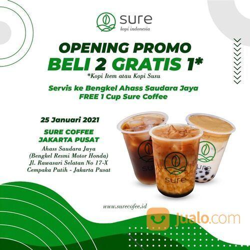 Sure Coffee HARI INI! PPROMO OPENING! (29419187) di Kota Jakarta Selatan