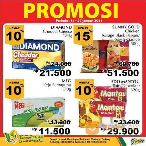 Giant promo frozen food, makanan, hingga minuman ringan. (29420375) di Kota Jakarta Selatan