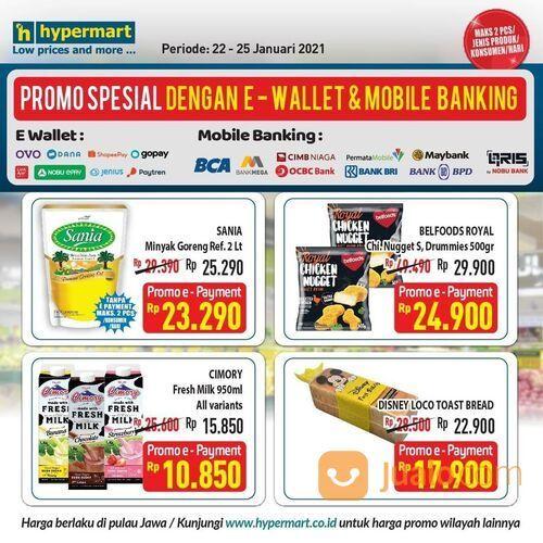 Hypermart Dapatkan harga spesial dengan pembayaran digital via scan QRIS (29420467) di Kota Jakarta Selatan