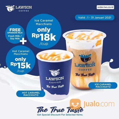 Lawson promo Ice Caramel Macchiato dan Hot Caramel Macchiato! (29420743) di Kota Jakarta Selatan
