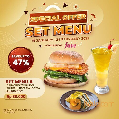 Sushi Tei Lovers, Lets have sushi party with multiple choice of Set Menu from @faveid (29422219) di Kota Jakarta Selatan