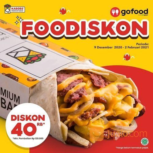 KABOBS Foodiskon (Rp40.000) Promo Gajian (Rp40.000 + Rp30.000) Monday Madness Diskon (Rp40.000 + Rp3 (29422221) di Kota Jakarta Selatan