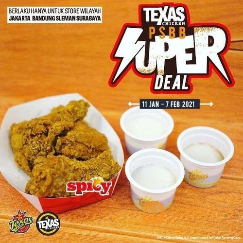 Texas Chicken Promo PSBB Super Deal (29422828) di Kota Jakarta Selatan