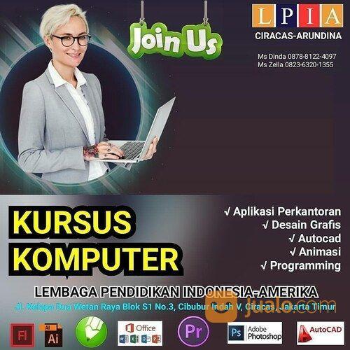 Kursus Komputer Di LPIA Ciracas-Arundina, Cibubur, Munjul, Cipayung, Cilangkap (29423962) di Kota Jakarta Timur