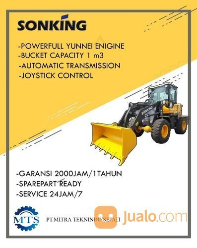 Ready Stock !!! Wheel Loader SONKING 0,8 & 1,1 Kubik Turbo Murah (29426740) di Kab. Buru Selatan
