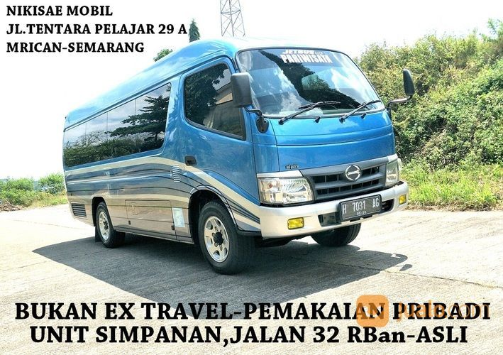 Asli Antik Minibus Long Hino Dutro Adiputro,Th 2012 Barang Simpanan Baru Jalan +/- 30 Ribuan Asli (29428189) di Kota Semarang