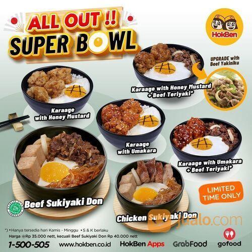 HokBen Promo Superbowl minggu ini banyak variannya. All Out! (29440653) di Kota Jakarta Selatan