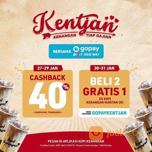 Kopi Kenangan BELI 2 GRATIS 1 Es Kopi Kenangan Mantan dengan kode voucher GOPAYKENTJAN! (29441885) di Kota Jakarta Selatan