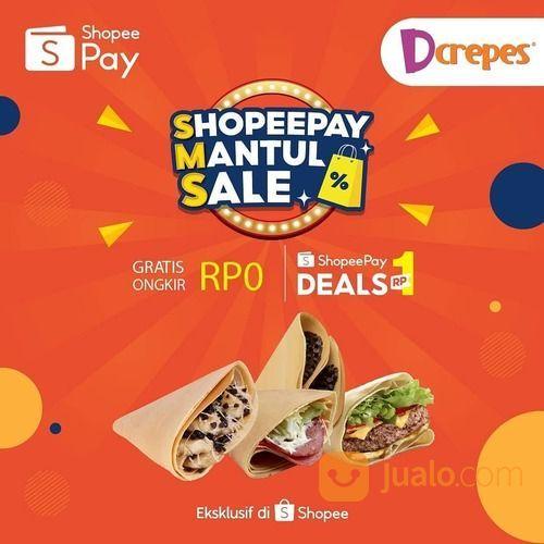 Dcrepes Shopeepay Mantul Sale (29441995) di Kota Jakarta Selatan