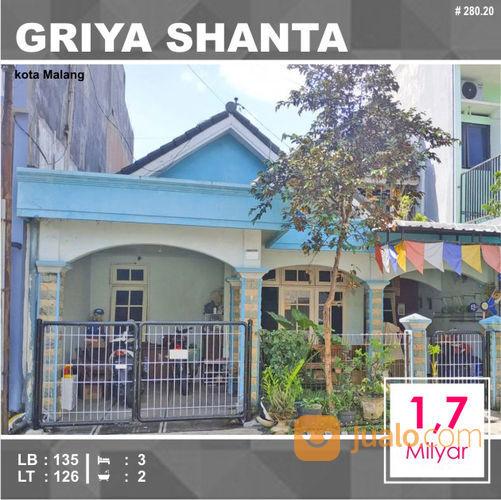 Rumah 2 Lantai Luas 126 Di Griya Shanta Sukarno Hatta Kota Malang _ 280.20 (29447403) di Kota Malang