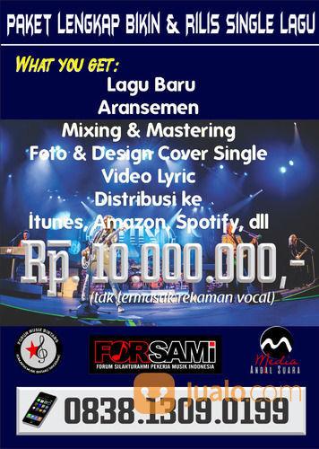 Paket Lengkap Bikin Single Lagu (29457777) di Kota Tangerang Selatan