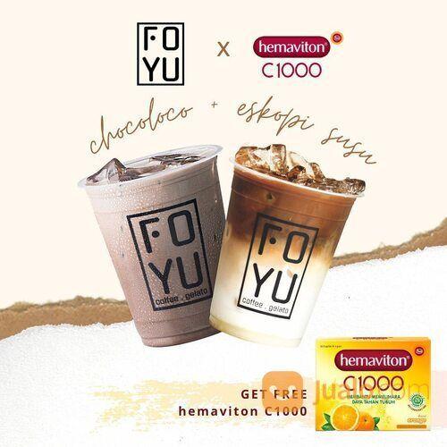 FOYU PROMO es kopi susu dan choco loco seharga 24.900 (29465450) di Kota Jakarta Selatan