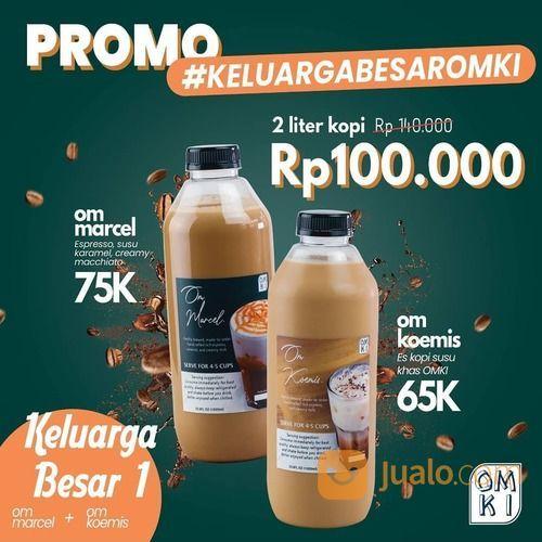 OMKI Warung Kopi PROMO KELUARGA BESAR OMKI DIPERPANJANG!! (29467613) di Kota Jakarta Selatan
