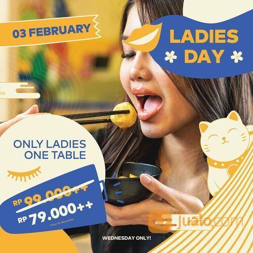 Kitamura Shabu Promo Ladies Day kembali hadir di Kitamura, kamu bisa makan ALL YOU CAN EAT shabu sha (29468714) di Kota Jakarta Selatan