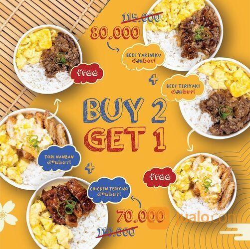 KITADON Promo BUY 2 GET 1 cuma sampai tanggal 07 Februari 2021 (29468755) di Kota Jakarta Selatan