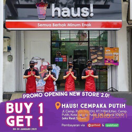 HAUS! PROMO OPENING BUY 1 GET 1 (29468817) di Kota Jakarta Selatan