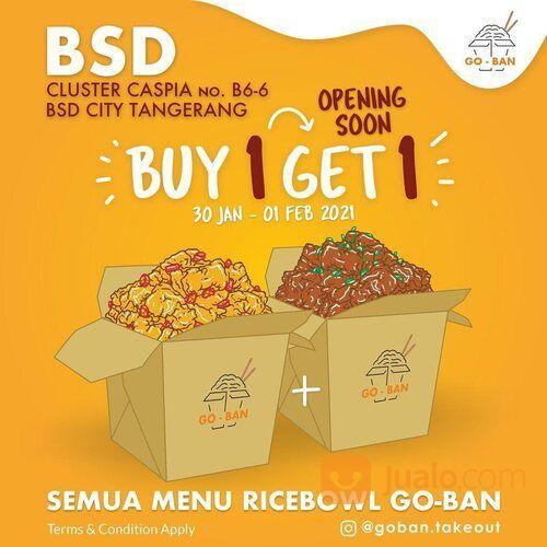 Go-Ban Takeout BELI 1, GRATIS 1: KHUSUS GOBAN BSD (29468842) di Kota Jakarta Selatan