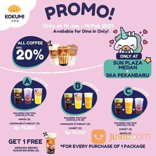 KOKUMI Diskon 20% untuk setiap pembelian menu coffee KOKUMI apapun (29468854) di Kota Jakarta Selatan