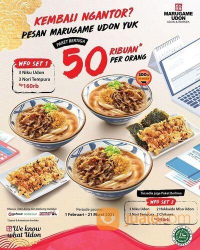 Marugame Udon lagi ada promo nih untuk Marugamates yang lagi WFO! (29470378) di Kota Jakarta Selatan