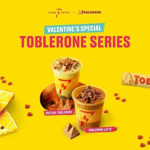 Flash Coffee Indonesia Promo Valentine's Special Toblerone Series (29470630) di Kota Jakarta Selatan