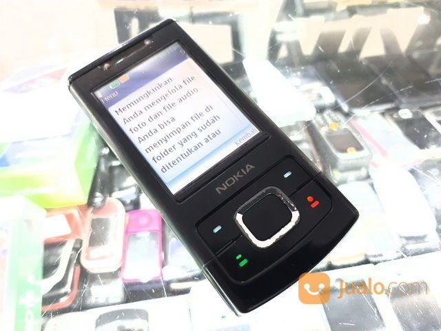 Hape Jadul Nokia 6500 Slide Seken Mulus Kolektor Item (29476779) di Kota Jakarta Pusat