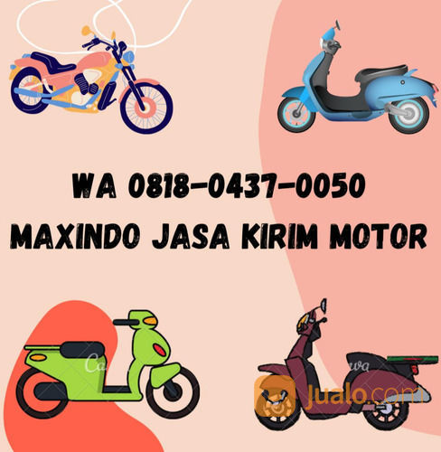 WA 0818-0437-0050 MAXINDO JASA PENGIRIMAN MOTOR JAKARTA BONTANG (29489441) di Kota Jakarta Barat