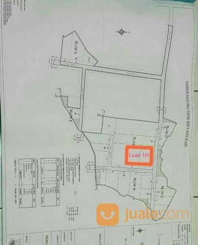Lahan Zona Industri Dan Pergudangan (29496272) di Pasarkemis