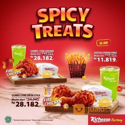 RICHEESE FACTORY PROMO AKHIR BULAN - SPICY TREATS ! (29514386) di Kota Jakarta Selatan