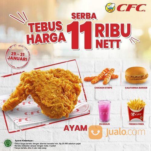 CFC PROMO TEBUS HARGA 11 RIBU NETT, kini berlaku di weekend juga loh. (29514608) di Kota Jakarta Selatan