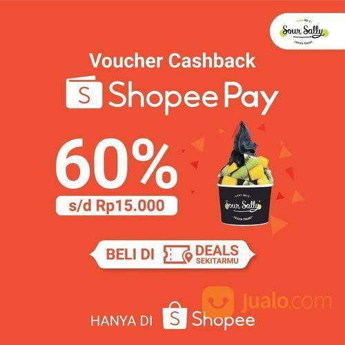 Sour Sally Voucher Cashback ShopeePay (29516414) di Kota Jakarta Selatan