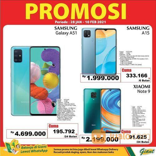Giant Promo Gadget bisa cicil dengan Permata Hero Card* (29517280) di Kota Jakarta Selatan