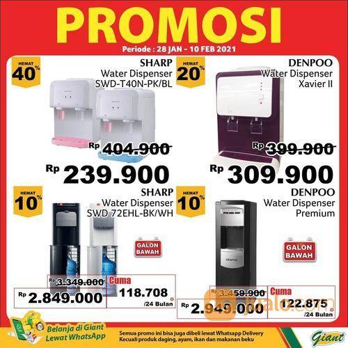 Giant promo menarik untuk produk elektronik mulai dari rice cooker, kompor gas, blender, hingga disp (29517284) di Kota Jakarta Selatan
