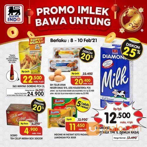"""Super Indo PROMO IMLEK BAWA UNTUNG! Saatnya belanja dengan promo SSRK """"IMLEK BAWA UNTUNG"""" di Super (29517309) di Kota Jakarta Selatan"""