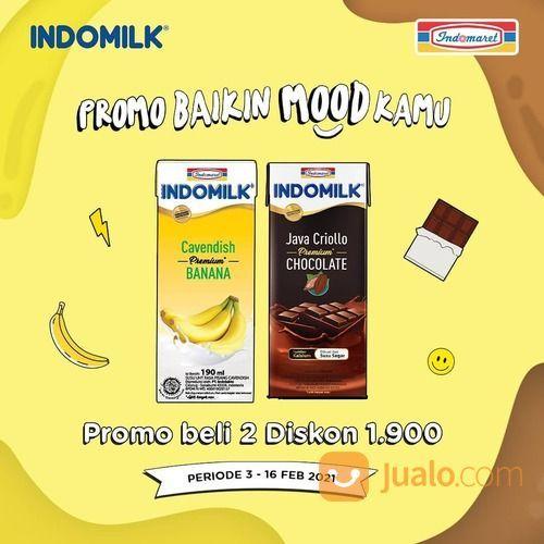 Indomaret PROMO #BaikinMoodKamu bareng Indomilk Banana Cavendish dan Indomilk Java Criollo, (29517329) di Kota Jakarta Selatan