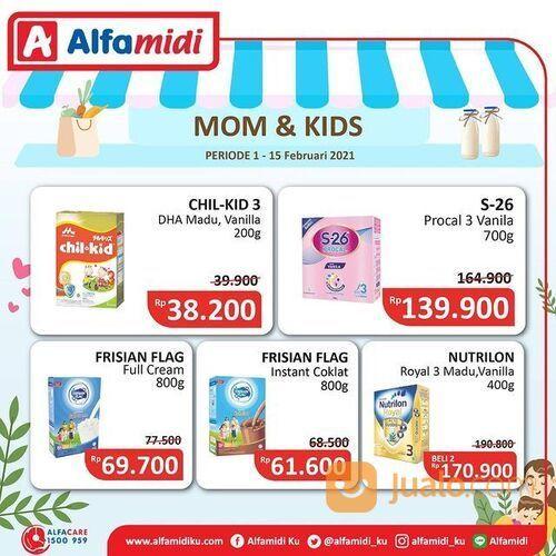 Alfamidi tersedia promo Mom and Kids periode 1-15 Februari 2021 (29517339) di Kota Jakarta Selatan