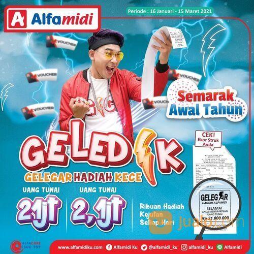Alfamidi Yuk buruan ikut event GELEDEK (Gelegar Hadiah Kece) mulai dari 16 Januari hingga 15 Maret 2 (29517358) di Kota Jakarta Selatan