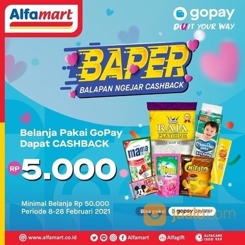 Alfamart BAPER BALAPAN NGEJAR CASHBACK (29517363) di Kota Jakarta Selatan