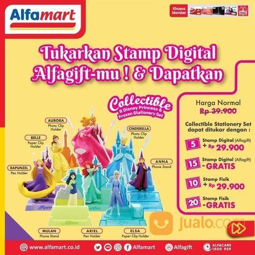 Alfamart Promo tukarkan Stamp Digital Alfagift - mu & Dapatkan 8 Koleksi Disney Princess dan Disney (29517373) di Kota Jakarta Selatan