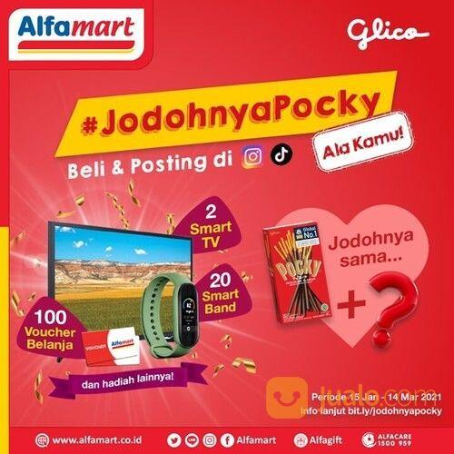 Alfamart Promo Pocky dan Ragam hadiah menarik 2 Smart TV, 20 Smart Band, 100 Voucher Belanja #Alfama (29517375) di Kota Jakarta Selatan