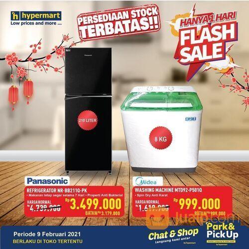 Hypermart HANYA 1 HARI! Yuk ikuti promo FLASH SALE Barang Elektronik dari Hypermart! (29517387) di Kota Jakarta Selatan